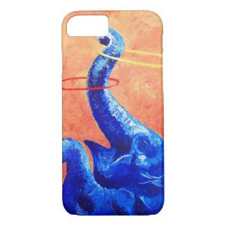 Caja feliz del teléfono del elefante: funda iPhone 7