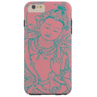 """Caja femenina del teléfono de Buda "" Funda De iPhone 6 Plus Tough"