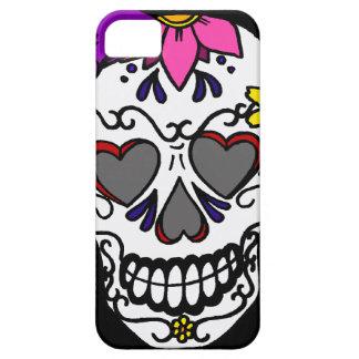 Caja femenina del teléfono del cráneo del azúcar iPhone 5 Case-Mate carcasas