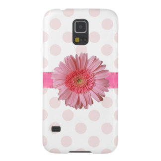 Caja femenina rosada bonita del teléfono del nexo fundas para galaxy s5