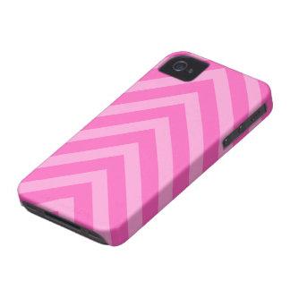 Caja femenina rosada de Blackberry de las flechas iPhone 4 Case-Mate Cárcasa
