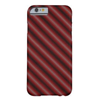 Caja Fino-Rayada del teléfono de la pendiente Funda Barely There iPhone 6