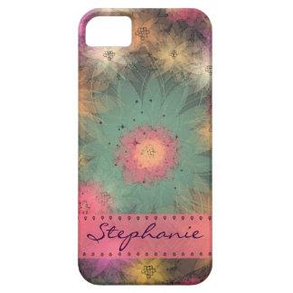 Caja floral abstracta personalizada del iPhone 5 iPhone 5 Cárcasa