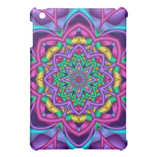 Caja floral artística de la mota del iPad 1 del ca