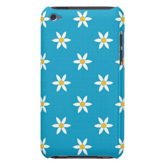 Caja floral azul de IPod iPod Case-Mate Carcasas