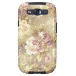 Caja floral color de rosa de la galaxia de Samsung Samsung Galaxy S3 Cobertura