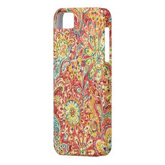 Caja floral colorida del iPhone 5G iPhone 5 Carcasa