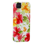 Caja floral de la casamata de la fiesta iPhone4 Case-Mate iPhone 4 Protector