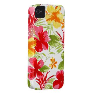 Caja floral de la casamata de la fiesta iPhone4 Funda Para iPhone 4