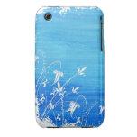 Caja floral de la curva de Blackberry del diseño d Case-Mate iPhone 3 Carcasas