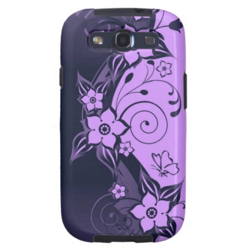 Caja floral de la galaxia de Samsung Galaxy S3 Cárcasas