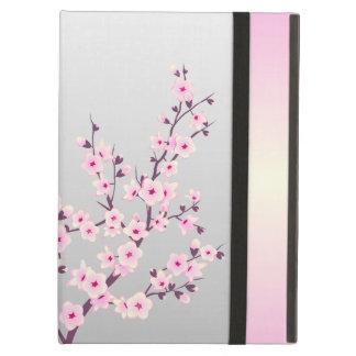 Caja floral del aire del iPad de las flores de