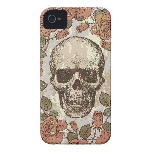 Caja floral del teléfono del peso ligero I del Carcasa Para iPhone 4