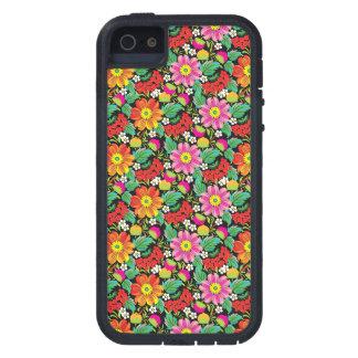 Caja floral del teléfono - SRF iPhone 5 Case-Mate Protectores