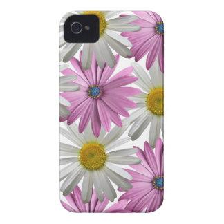 Caja floral delicada del rosa/blanca de Iphone 4S Case-Mate iPhone 4 Protectores