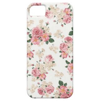 Caja floral en colores pastel del iPhone 5 5S iPhone 5 Coberturas