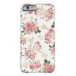Caja floral en colores pastel del iPhone 6 Funda De iPhone 6 Barely There