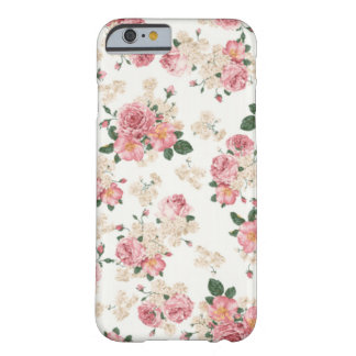 Caja floral en colores pastel del iPhone 6 Funda De iPhone 6 Slim