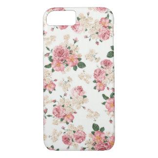 Caja floral en colores pastel del iPhone 7 Funda iPhone 7