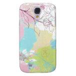 Caja floral en colores pastel del teléfono de la m
