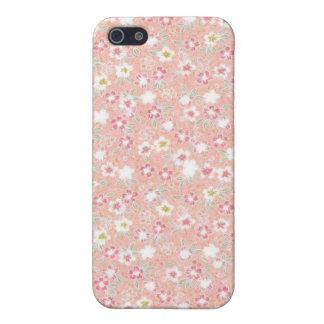 Caja floral femenina de la mota del iPhone 4/4s iPhone 5 Carcasa