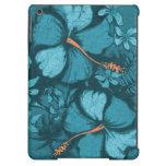 Caja floral hawaiana del aire del iPad del hibisco
