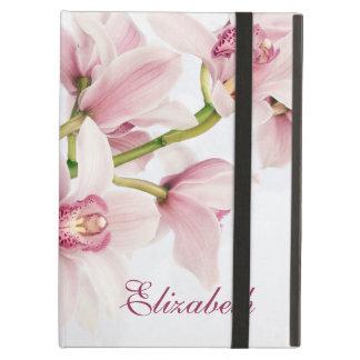 Caja floral personalizada del folio del iPad de la