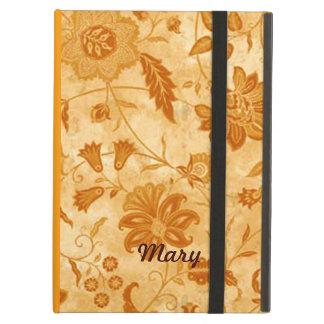Caja floral personalizada del iPad