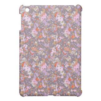 caja floral pintada de la mota del ipad