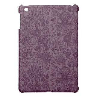 Caja floral púrpura