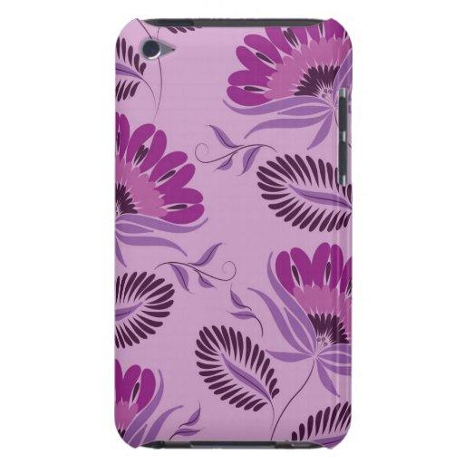 Caja floral púrpura de iPod Case-Mate iPod Touch Protector