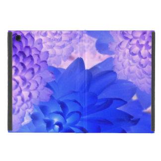 Caja floral púrpura de la tableta iPad mini carcasas