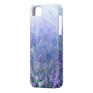 Caja floral púrpura del iPhone 5G iPhone 5 Carcasa