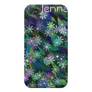 Caja floral retra del teléfono celular iPhone4 iPhone 4/4S Funda