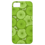 Caja floral retra hermosa, verde del iPhone 5 iPhone 5 Case-Mate Cárcasas