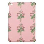 Caja floral rosada del teléfono móvil
