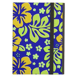 Caja floral tropical colorida del aire del iPad