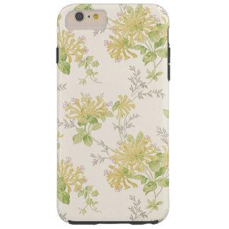 Caja florecida amarillo del teléfono funda para iPhone 6 plus tough