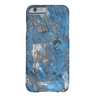 Caja formada escamas azul del iPhone de la pintura Funda Barely There iPhone 6