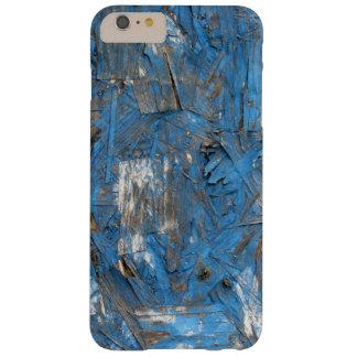 Caja formada escamas azul del iPhone de la pintura Funda Barely There iPhone 6 Plus
