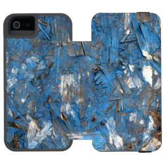 Caja formada escamas azul del iPhone de la pintura Funda Billetera Para iPhone 5 Watson