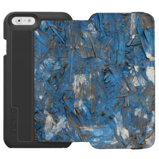 Caja formada escamas azul del iPhone de la pintura Funda Billetera Para iPhone 6 Watson