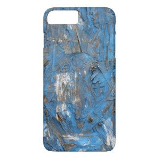 Caja formada escamas azul del iPhone de la pintura Funda iPhone 7 Plus
