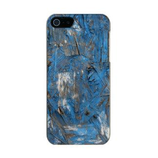 Caja formada escamas azul del iPhone de la pintura Funda Para iPhone 5 Incipio Feather Shine