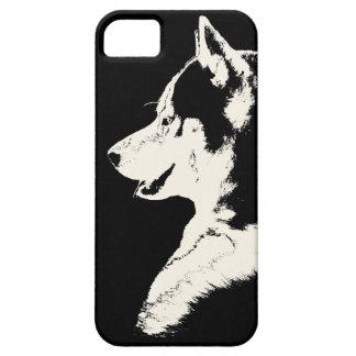 Caja fornida del husky siberiano del caso del iPho iPhone 5 Case-Mate Carcasas