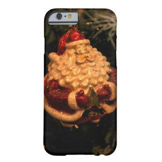 Caja fotográfica del teléfono de Papá Noel del Funda Para iPhone 6 Barely There