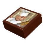 Caja francesa del recuerdo de la panadería caja de joyas