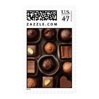 """""""Caja franqueo de encargo de los chocolates"""" (20 Sello Postal"""