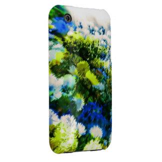 Caja fresca de la casamata del jardín floreciente Case-Mate iPhone 3 carcasa