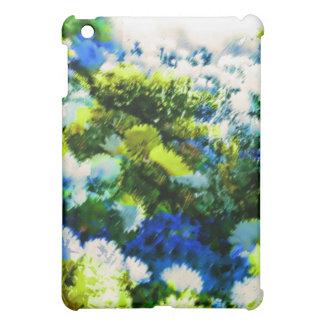 Caja fresca de la mota del iPad del jardín floreci